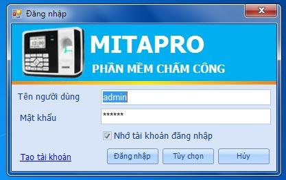 phần mềm mita pro