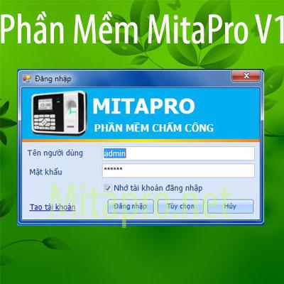 Hướng dẫn cài đặt phần mềm chấm công Mitapro V1 (Data SQL Server)