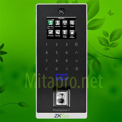 Máy chấm công chụp hình và kiểm soát ra vào ZKTeco  ProCapture-T