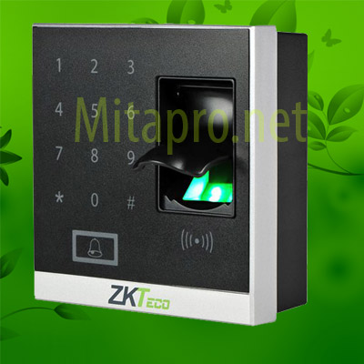 Máy kiểm soát ra vào bẳng vân tay và thẻ RIFD Zkteco X8S