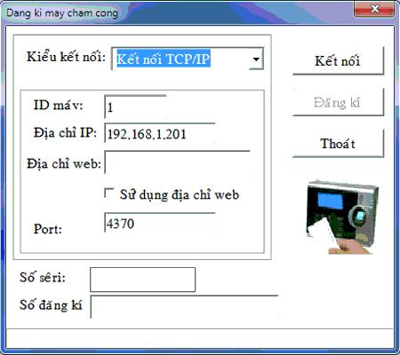 Phần mềm chấm công mitaco 5v2