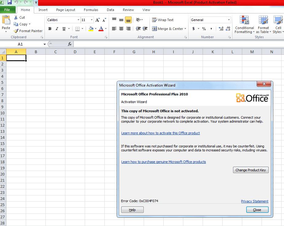 sửa lỗi không xuất Excel được trên phần mềm mitapro- Office hết hạn